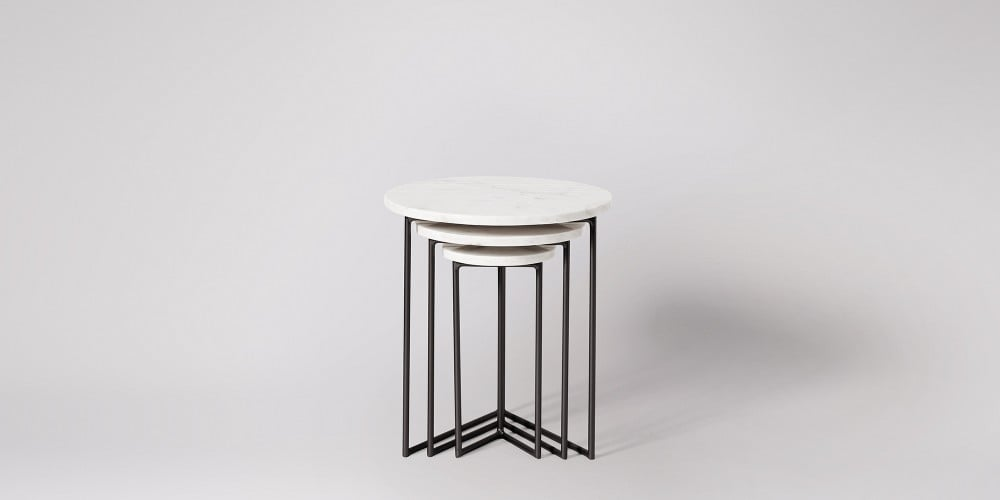 Nesting Marble Side Table Set-7