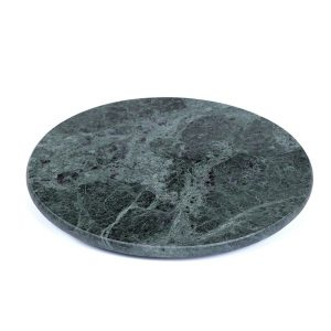 Green Round Marble Cheese Board-4