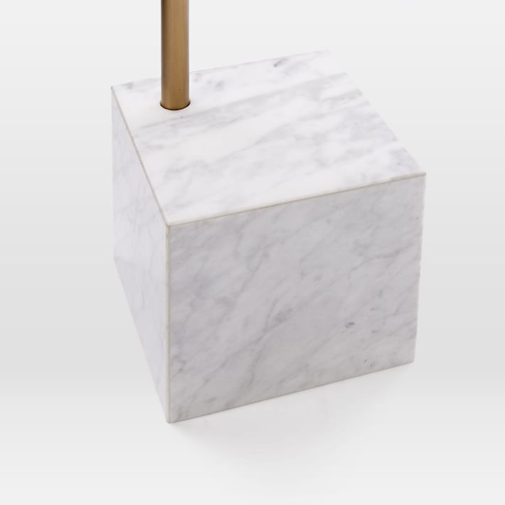 Marble Cube Base Side Table-1