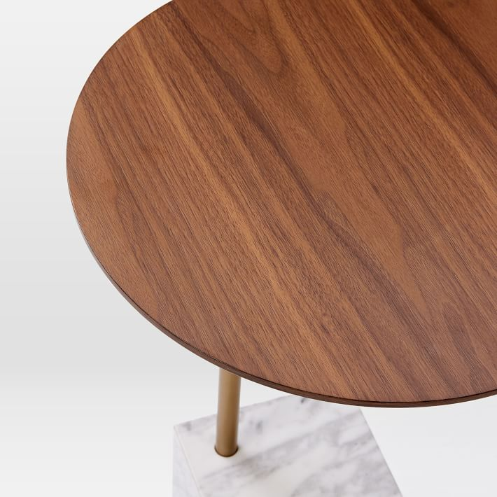 Marble Cube Base Side Table-11