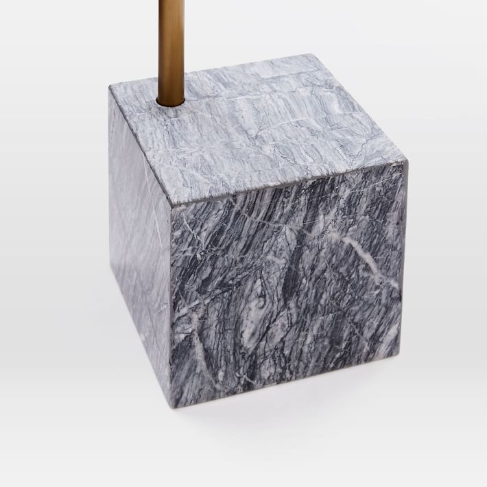 Marble Cube Base Side Table-7