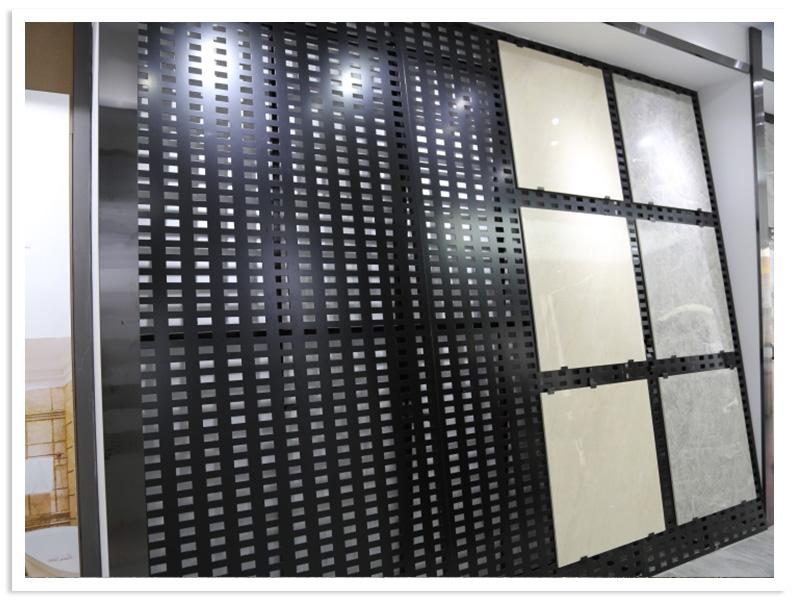 Adjustable Ceramic tile stone display rack