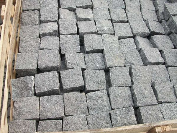G654 Dark Grey Granite Garden Paving Stone-4