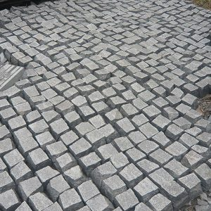 G684 China Granite Block Paving Stone Exteriors-2