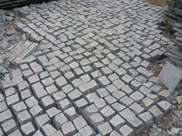 G684 China Granite Block Paving Stone Exteriors-2