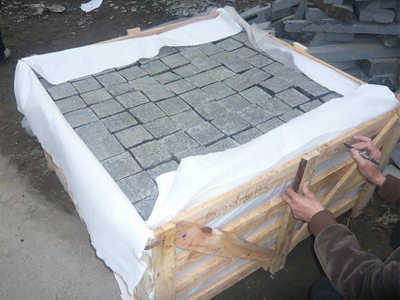 G684 China Granite Block Paving Stone Exteriors-7