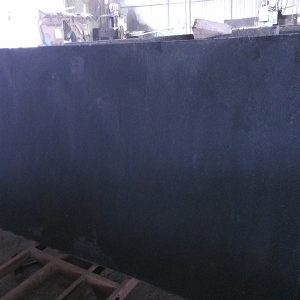 G684 Granite Black Color Flamed Finish Slabs-1