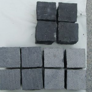 G685 Black Granite Cube Garden Paving Stone-5