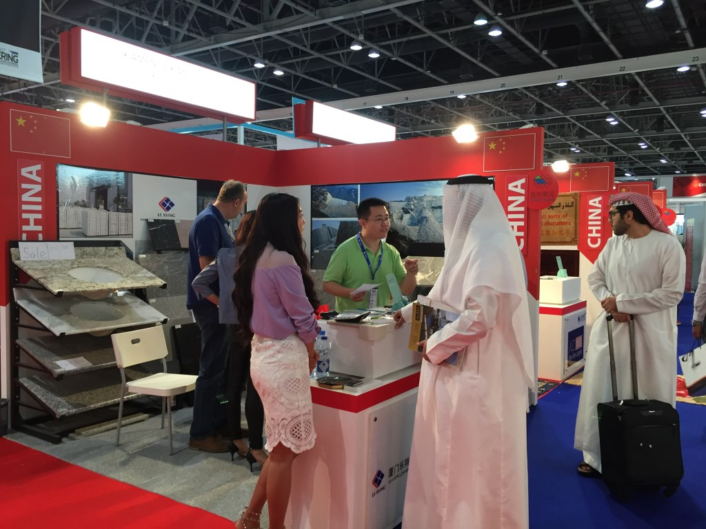 Lexiang At Middle East Stone Exhibition 2015-3