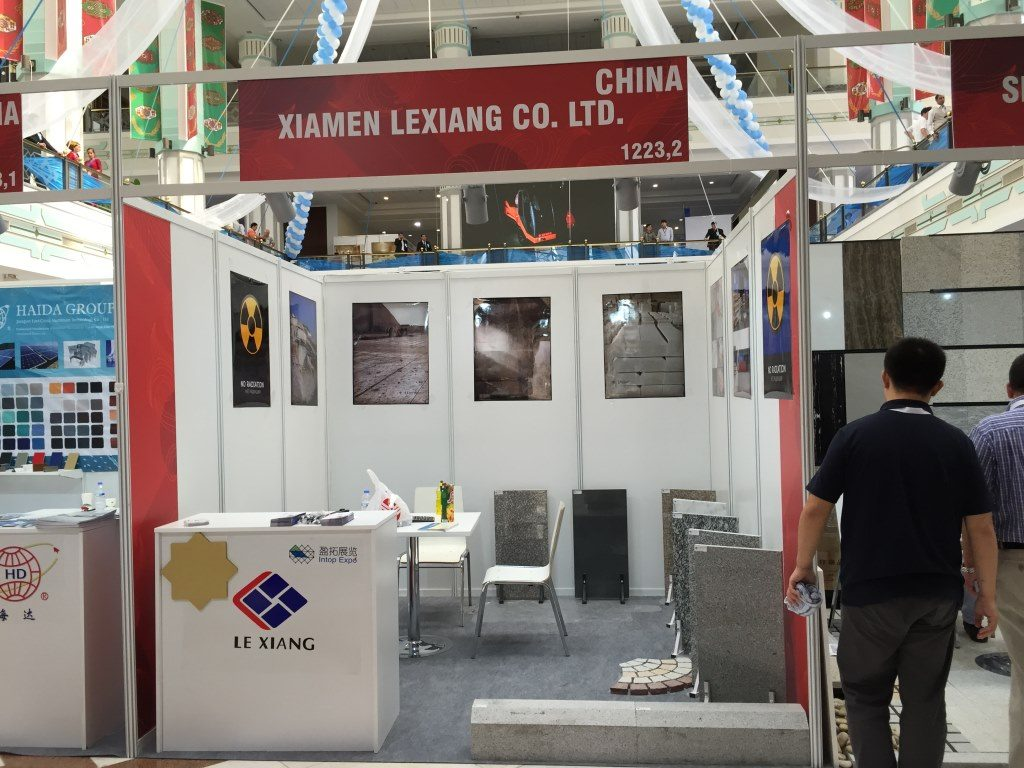 Lexiang At Turkmen Construction Exhibition 2015-2