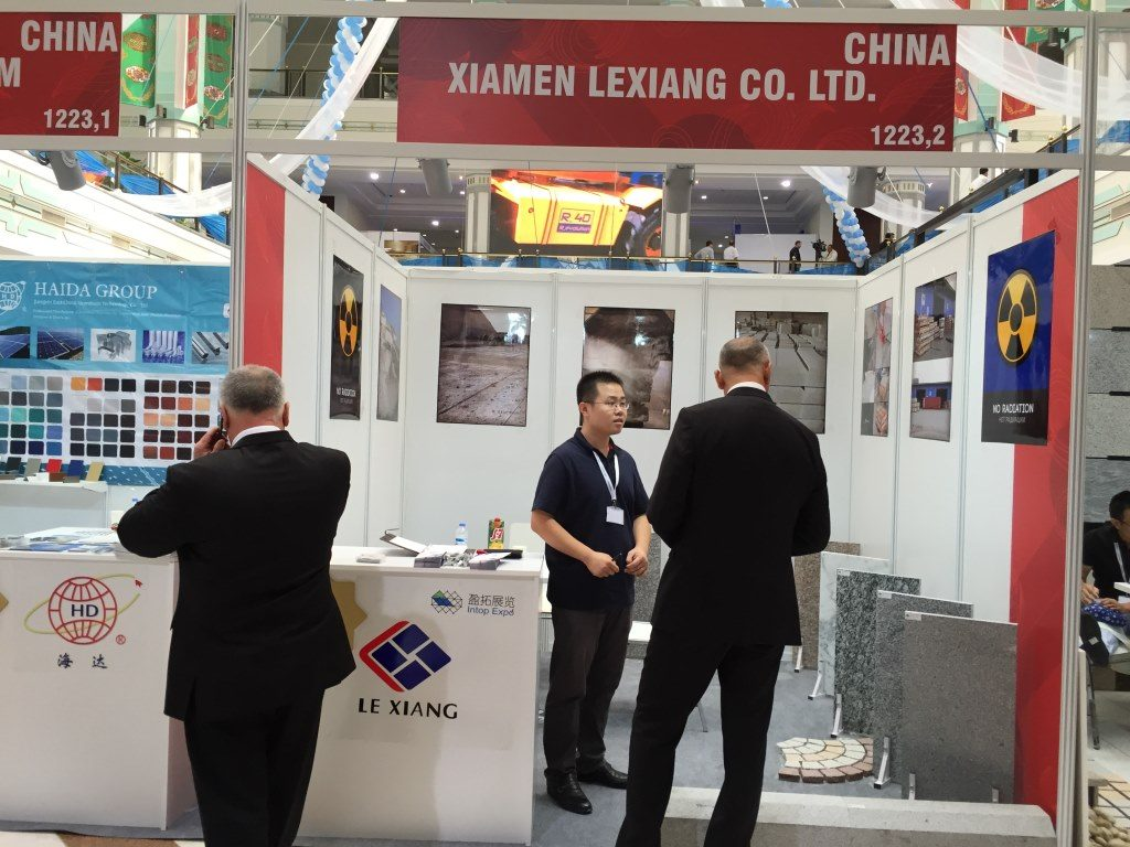 Lexiang At Turkmen Construction Exhibition 2015-3
