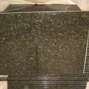 Uba Tuba Granite Green Color Kitchen Countertop-2