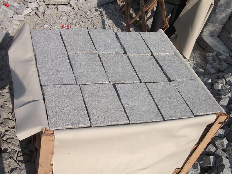 G603 Grey Granite Garden Wall Stone-4