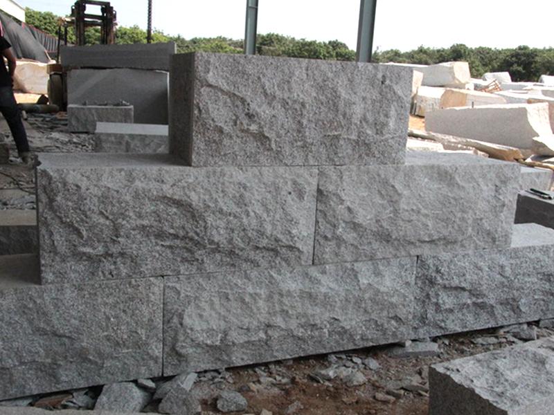G603 Grey Granite Garden Wall Stone-7