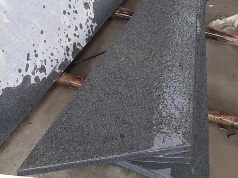 G603 Grey Granite Interior Stairs For Sale-1