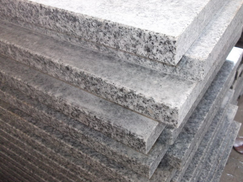 G603 Grey Granite Interior Stairs For Sale-2