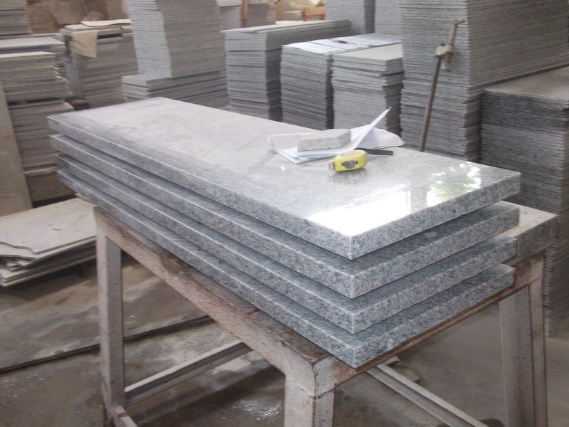 G603 Grey Granite Interior Stairs For Sale-3