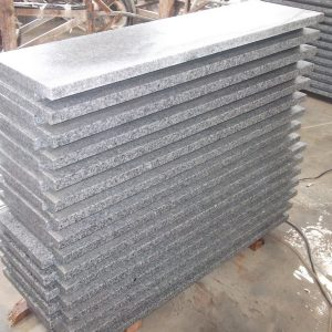 G603 Grey Granite Interior Stairs For Sale-4