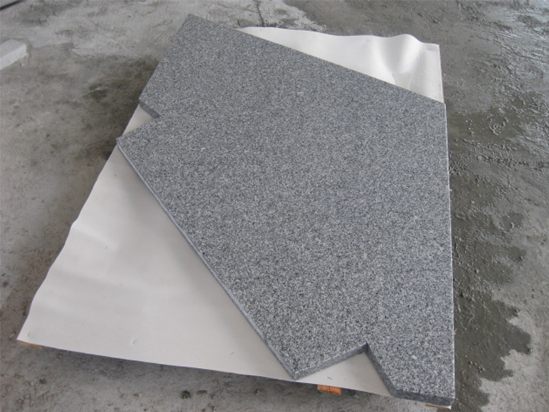 G603 Grey Granite Interior Stairs For Sale-5