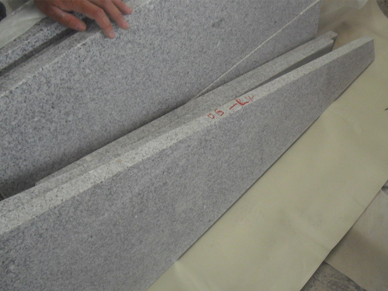 G603 Grey Granite Interior Stairs For Sale-6