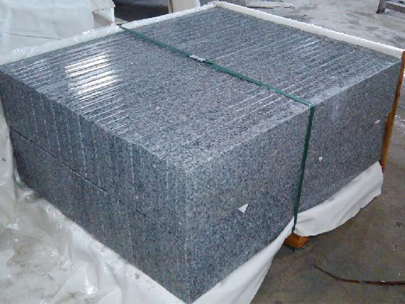 G603 Grey Granite Interior Stairs For Sale-7