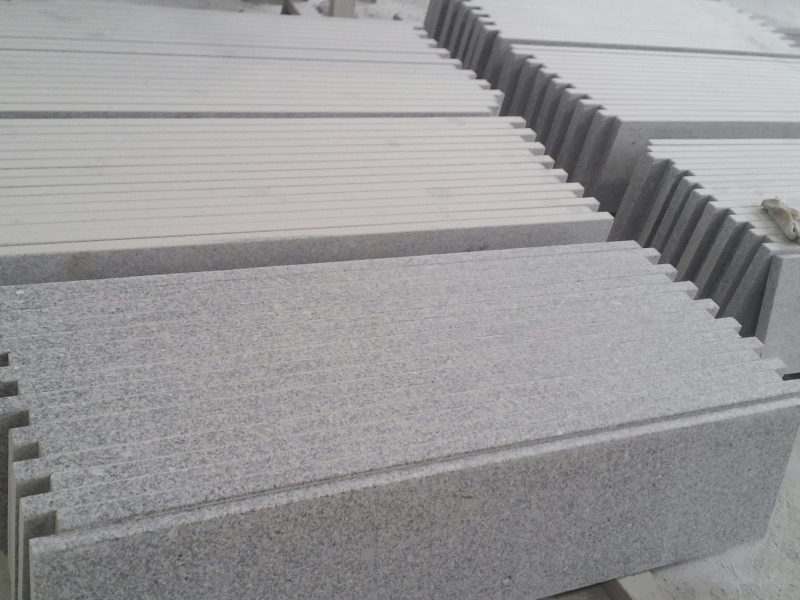 G603 Grey Granite Interior Stairs For Sale-8