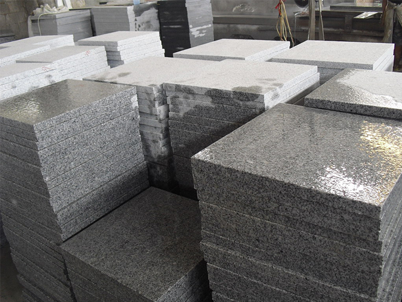 G603 Grey Granite Slab Exterior Flooring Tiles-3