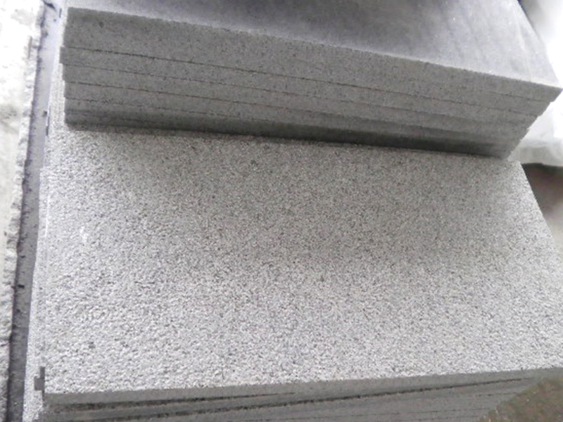 G603 Grey Granite Slab Exterior Flooring Tiles-7