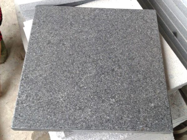 G654 Dark Gray Granite Slabs Exterior Floor Tiles Custom-11