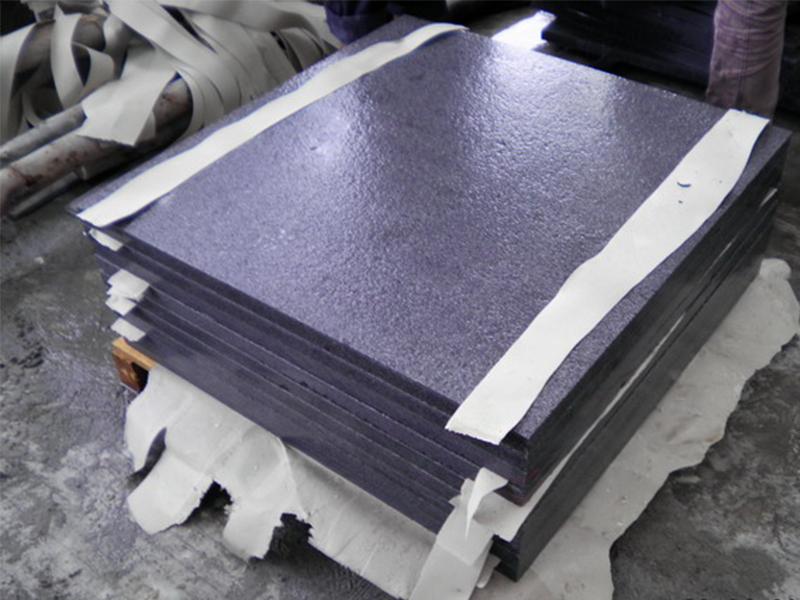 G654 Dark Gray Granite Slabs Exterior Floor Tiles Custom-3
