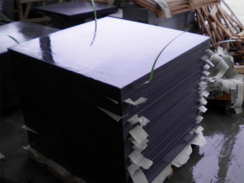 G654 Dark Gray Granite Slabs Exterior Floor Tiles Custom-7