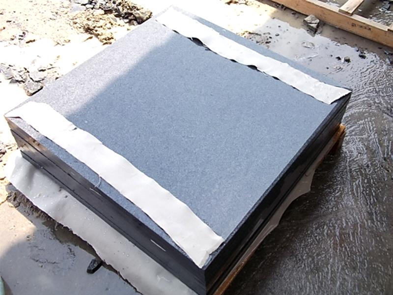G654 Dark Gray Granite Slabs Exterior Floor Tiles Custom-8