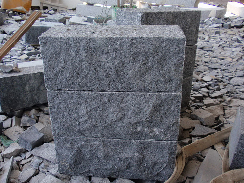 G654 Dark Grey Granite Custom Wall Stone-2