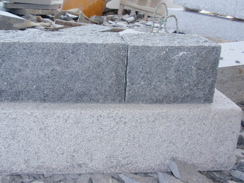 G654 Dark Grey Granite Custom Wall Stone-7