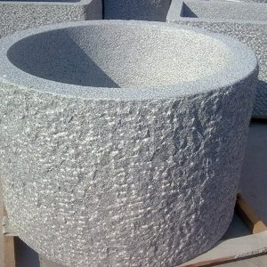 G654 Dark Grey Granite Stone Trough Customizable-4