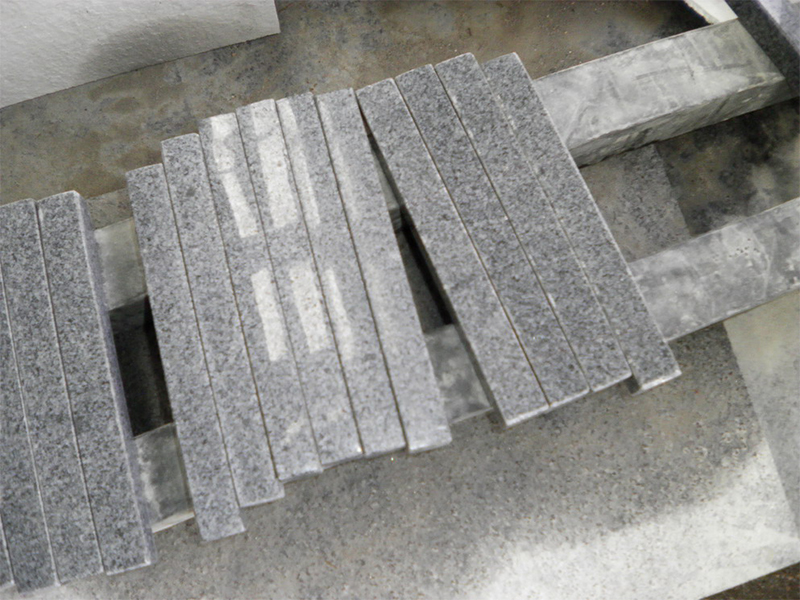 G654 Granite Polish Finished Stone Stairs-6