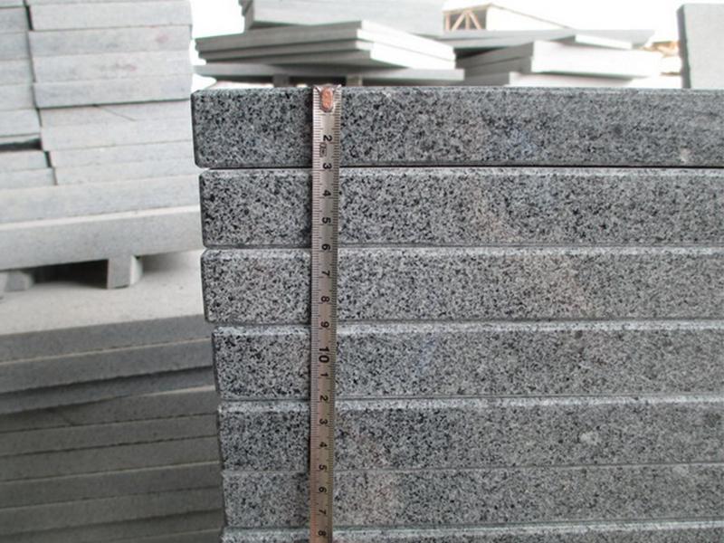 G654 Granite Polish Finished Stone Stairs-7