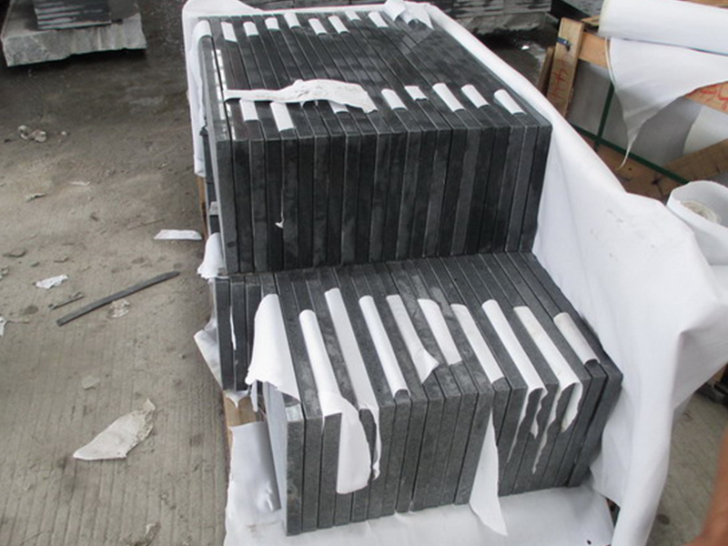G654 Granite Polish Finished Stone Stairs-8