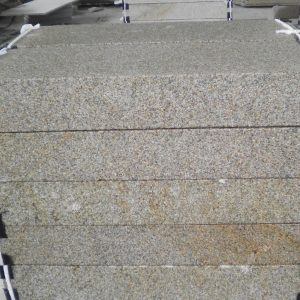 G682 Yellow China Granite Steps For Public Place-1