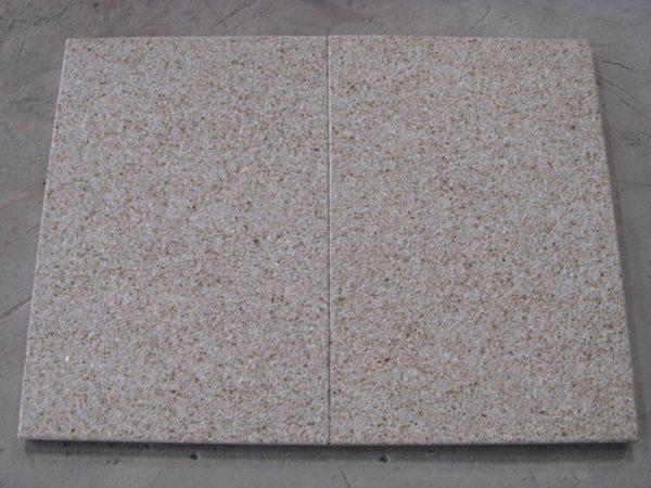 G682 Yellow Granite Flamed Finish Slabs Flooring-4