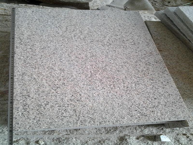 G682 Yellow Granite Flamed Finish Slabs Flooring-6