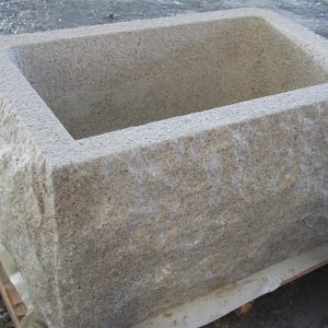 G682 Yellow Granite Stone Trough Customizable-1
