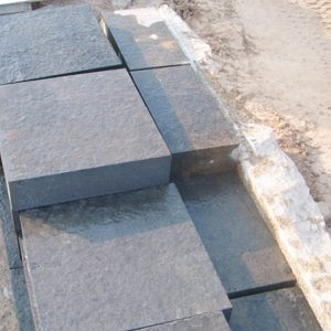 G685 Black China Granite Steps Custom For Sale-4