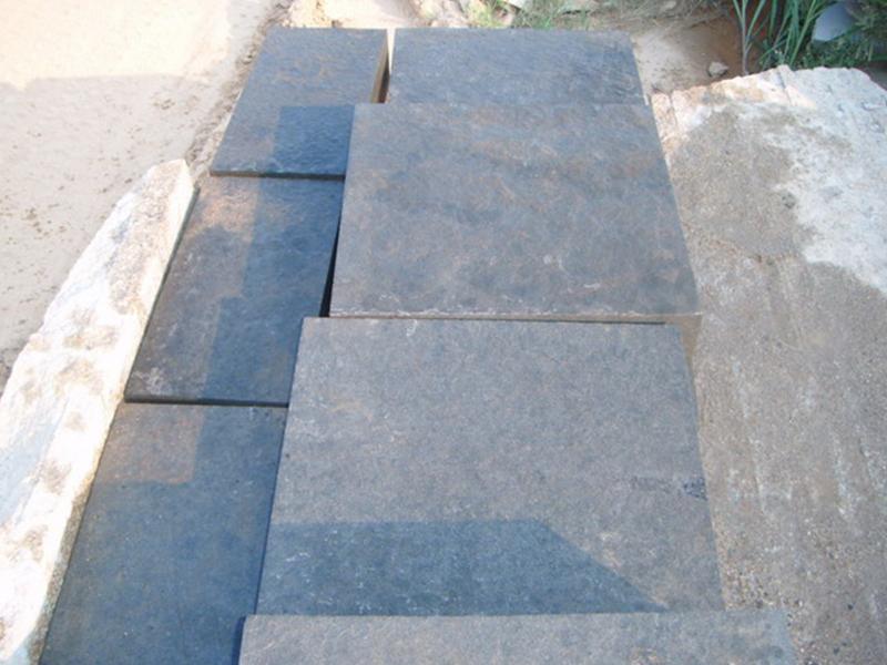 G685 Black Granite Slab For External Flooring Tiles-7
