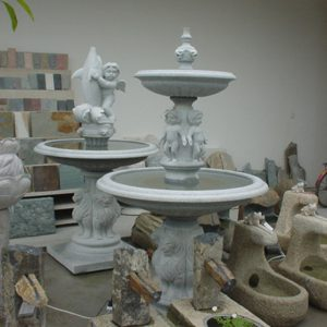 Outdoor Garden Granite Stone Water Fountains LX-GR-F04