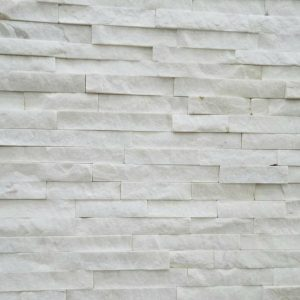 Chinese Pure White Marble Natural Stone Veneer CS-9