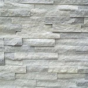 Cloudy Grey Quartzite Thin Stone Veneer CS-57