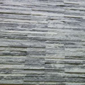 Cloudy Grey Quartzite Thin Stone Veneer Mosaic Tile CS-56