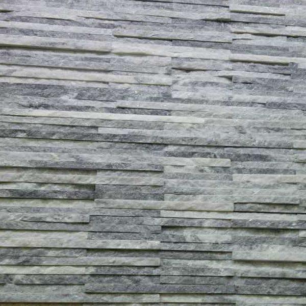 Cloudy Grey Quartzite Thin Stone Veneer Mosaic Tile CS-56